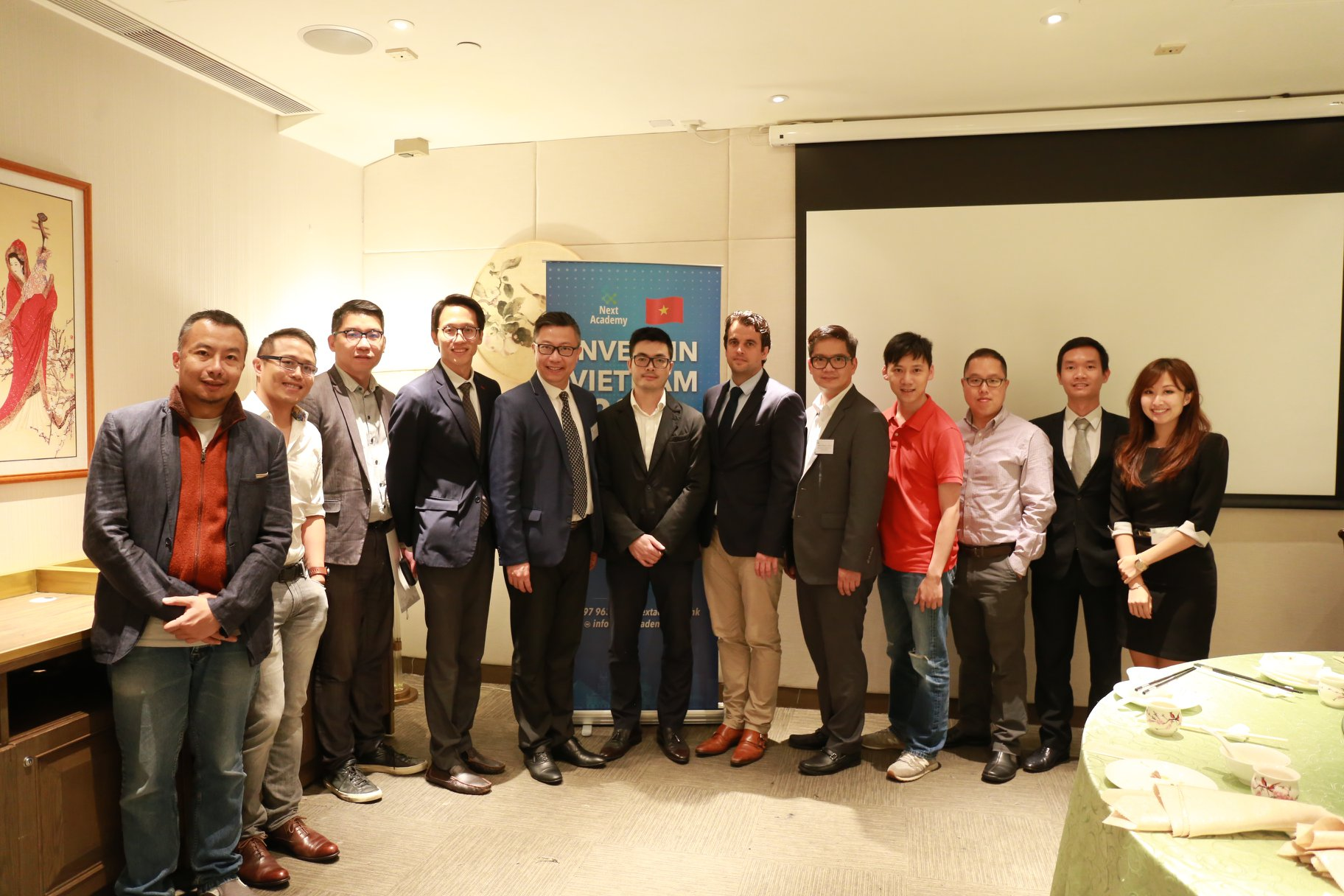 The Consulate General of Vietnam in Hong Kong and delegation from Vietnam